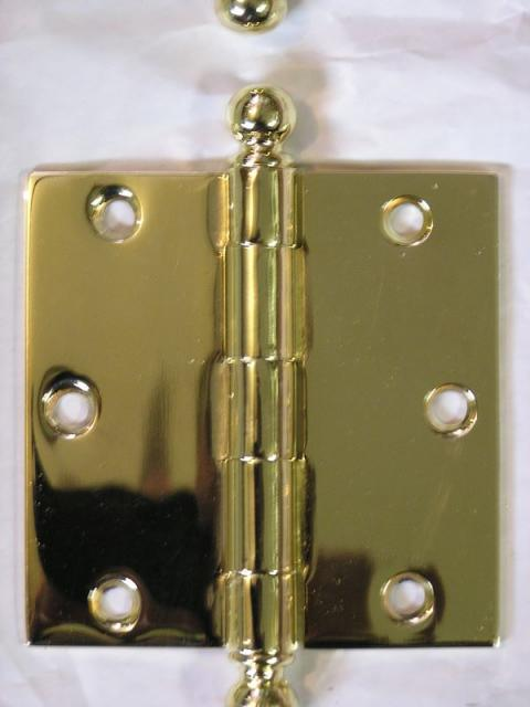 Plated Hinge Close-Up
